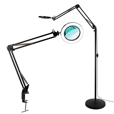 floor buy lamp with standing led reading lamps light for magnifying