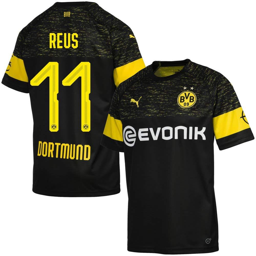 finest selection e5af0 bce70 Amazon.com : PUMA Borussia Dortmund Away Jersey Reus 11 ...