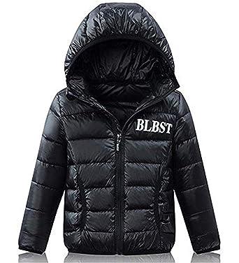 b5af0f26a Amazon.com  LISUEYNE Boys Girls Kid Winter Hooded Down Coat ...