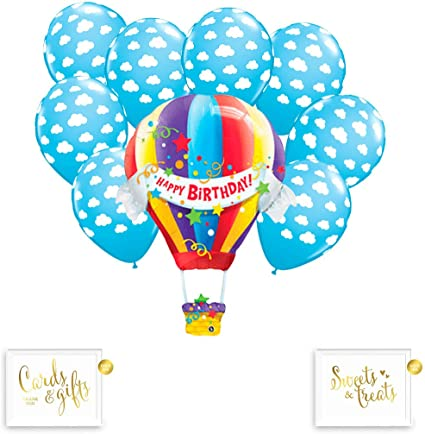 Llama Balloon Bouquet 4th Birthday Party Supplies Decorations Balloons Favors