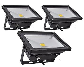 PrimLight Foco Led Exterior 3X 30W,Focos de Exterior,Proyector Led ...