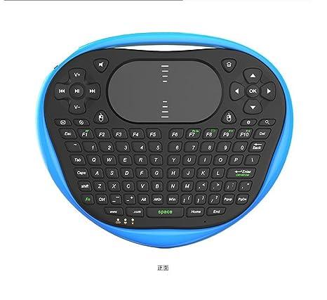 Aire ardilla voladora traje de ratón teclado inalámbrico PC TV de carga tocar control remoto,black: Amazon.es: Electrónica