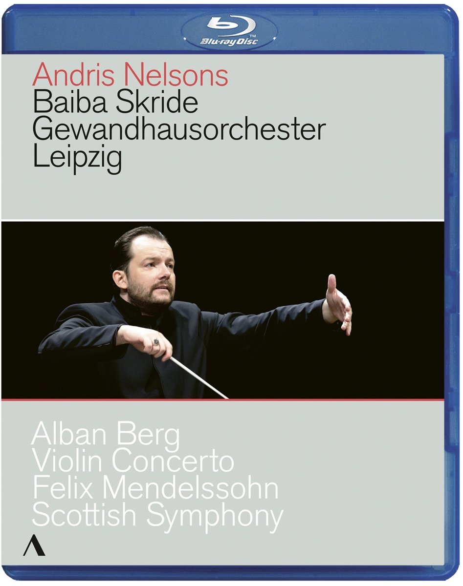 Blu-ray : Violin Concerto /  Scottish Symphony (Blu-ray)