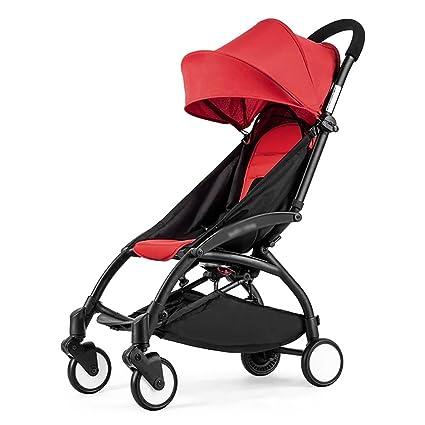 Cochecito De Bebé Ultra Ligero Portátil Plegable Fácil Reclinable En El Avión Cochecito De Bebé Con