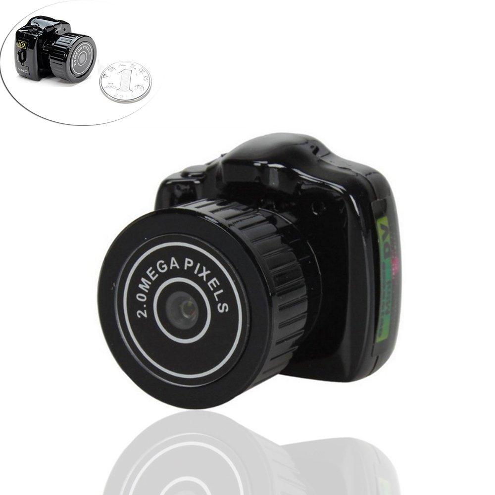 FuSon Meilleur appareil photo caché Mini Spy, enregistreur vidéo numérique portable, vidéo espion enregistreur vidéo numérique portable vidéo espion