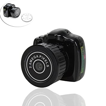 Fuson mejor cámara oculto mini Spy, videograbador digital portátil ...