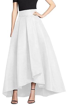 Couturebridal® Jupe Longue Vintage Elégante Femme Haute Haille trdxhQsC