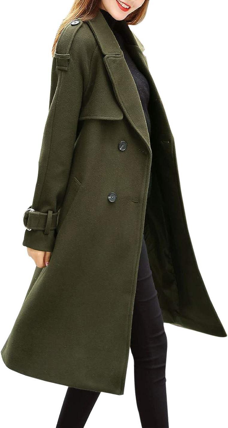 Women Loose Trenchcoat Size M