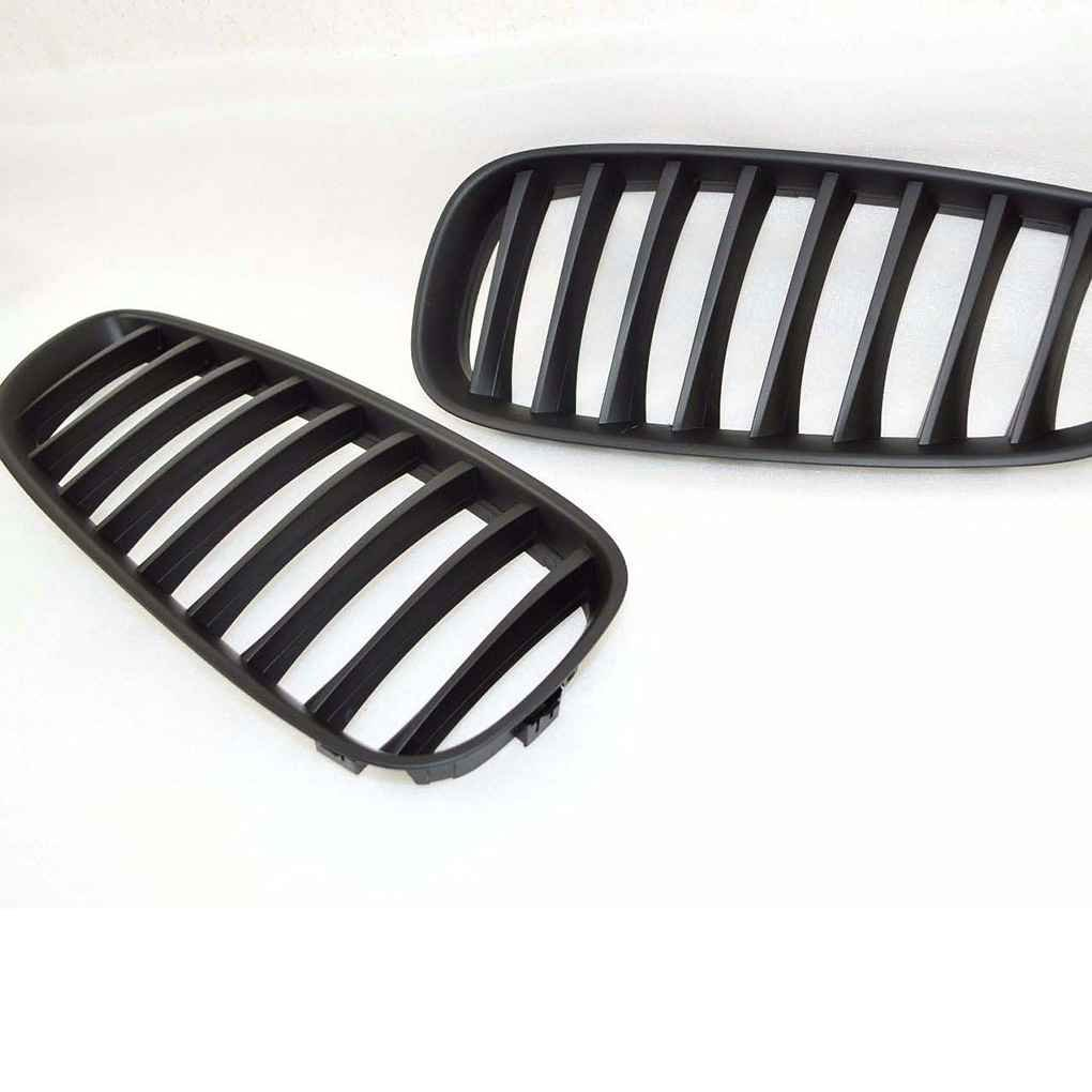 Dergtgh Matte Kidney Grill Avant Noir Grillages Covers pour BMW Z4 E89 2009-2016