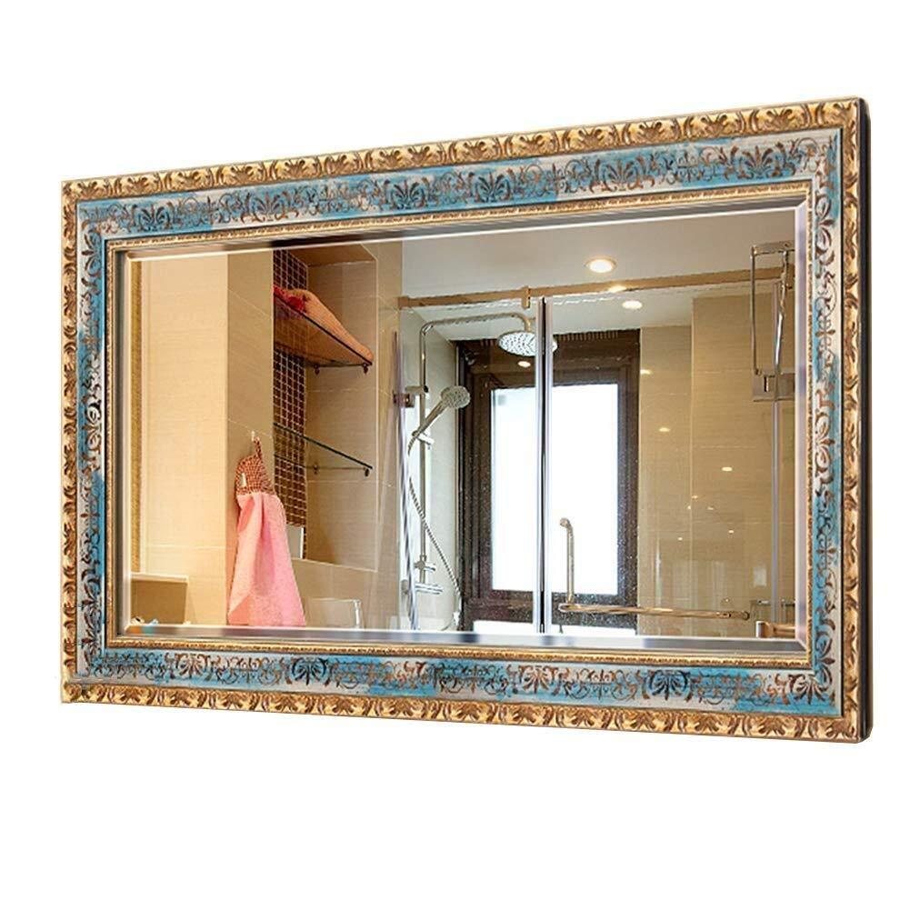 Bathroom Mirror,Bathroom Mirror Wall-Mounted Bathroom Mirror Bathroom Mirror Bathroom Vanity Mirror (Size : 7090cm)