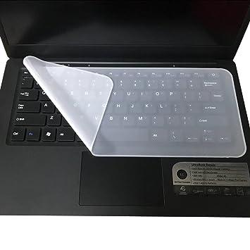 Jamicy - Funda Protectora Universal Ultrafina de Silicona para Teclado de Ordenador portátil DE 13 a 14,1 Pulgadas: Amazon.es: Electrónica