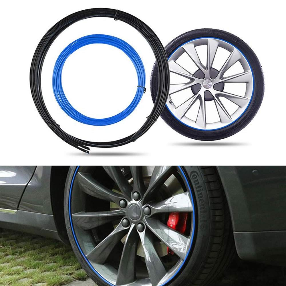 Amazon.com: JOINAP Wheel Bands Kit Rim Protector for Tesla ...