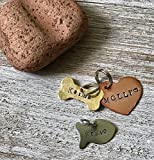 Hand-stamped Pet Tag