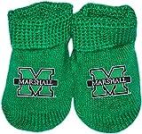 Marshall University Newborn Baby Bootie Sock