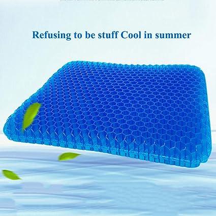 Amazon.es: Cojín de asiento de silicona fresco transpirable ...