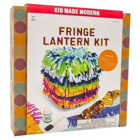 Kid Made Modern 49-Piece Fringe Lantern Kit, Confetti Systems