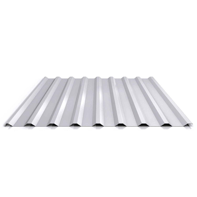 Profilblech St/ärke 0,70 mm Material Aluminium Profil PA20//1100TR Beschichtung 25 /µm Trapezblech Dachblech Farbe Graualuminium
