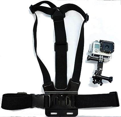 Navitech Brustgürtel / Kamerakörperhalterung für GoXtreme BlackHawk 4K Action Camera