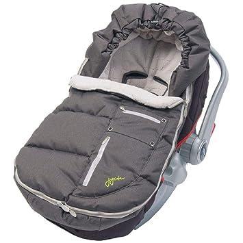 Amazon.com: JJ Cole Arctic Bundleme Infant, Carbón/plateado ...
