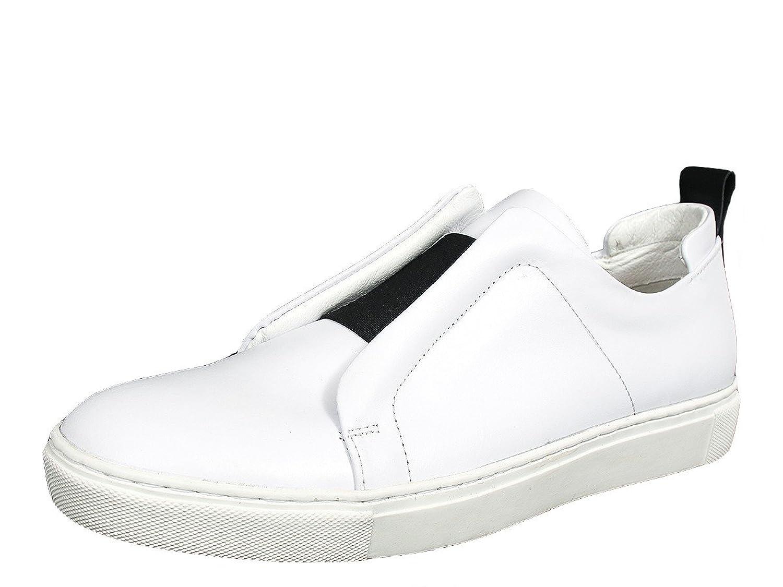 Avant Garde Versatile Band Slip On Leather Loafers