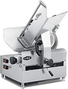 Best Commercial Meat Slicer - KWS 12″ Automatic 1050W Meat Slicer Review