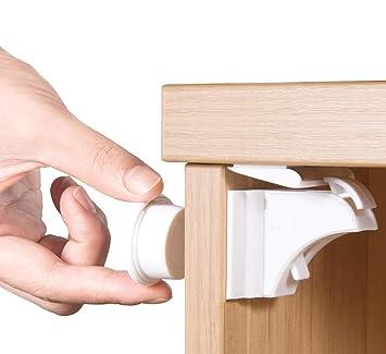 Kindersicherung Schrank und Schublade Baby Sicherheit Schrankschloss ohne Bohren