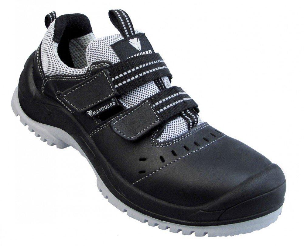 Maxguard E120 Sandale Sandale Sandale schwarz-grau S1P Größe 42  93265a
