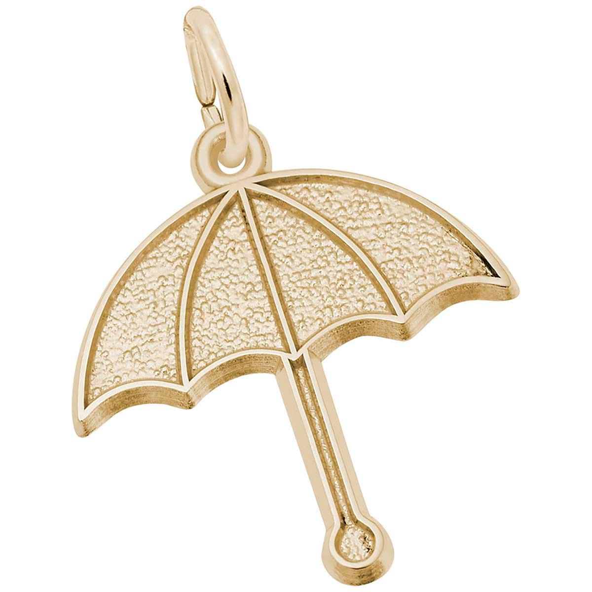 Rembrandt Charms Umbrella Charm, 10K Yellow Gold