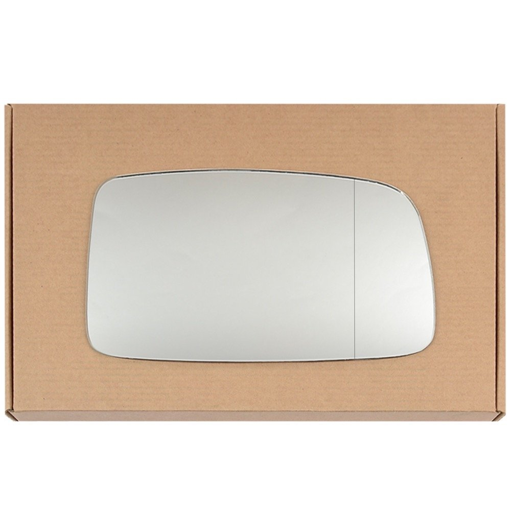Wide Angle Right driver side Silver Wing mirror glass # MiLan/jb0-2007110/590 Less4Spares