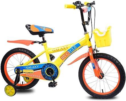 Bicicleta Para Niños,5-8 Años 16 Pulgadas Niños Deportes Al Aire ...
