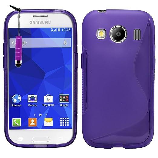 1 opinioni per VCOMP Samsung Galaxy Ace 4 LTE SM-G357FZ: Copertura Della Cassa Del Sacchetto