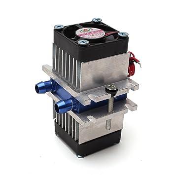 Wishfive - Sistema termoeléctrico de refrigeración Peltier con kit de ventilador para montar uno mismo: Amazon.es: Informática