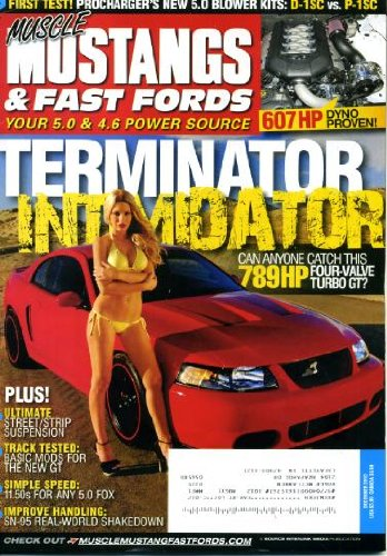 Muscle Mustangs & Fast Fords December 2010 789HP Four-Valve Turbo GT on Cover, Ultimate Street/Strip Suspension, Basic Mods for the New GT, First Test - Procharger's New 5.0 Blower Kits