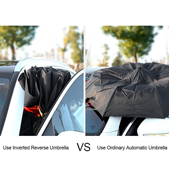 Paraguas Full-Automatic Umbrella3 Paraguas Plegable KAZbrella 3 Plegable Grande Viento Resistance (Amarillo): Amazon.es: Equipaje
