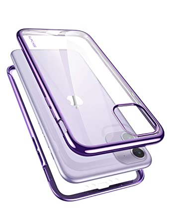 SUPCASE [Unicorn Beetle Electro Series] Designed for 2019 iPhone 6.1 inch  Case, Clear Plating Glitter Slim Hybrid Full,Body Protective Case with