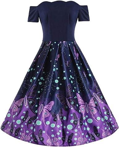 New Stylewe Butterfly Sleeve Slash Neck Printed Maxi Dress Polyester XL XXL