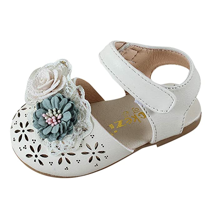 4329cc23f1f6e Amazon.com: LNGRY Baby Shoes,Toddler Infant Kids Girls Summer Sweet ...
