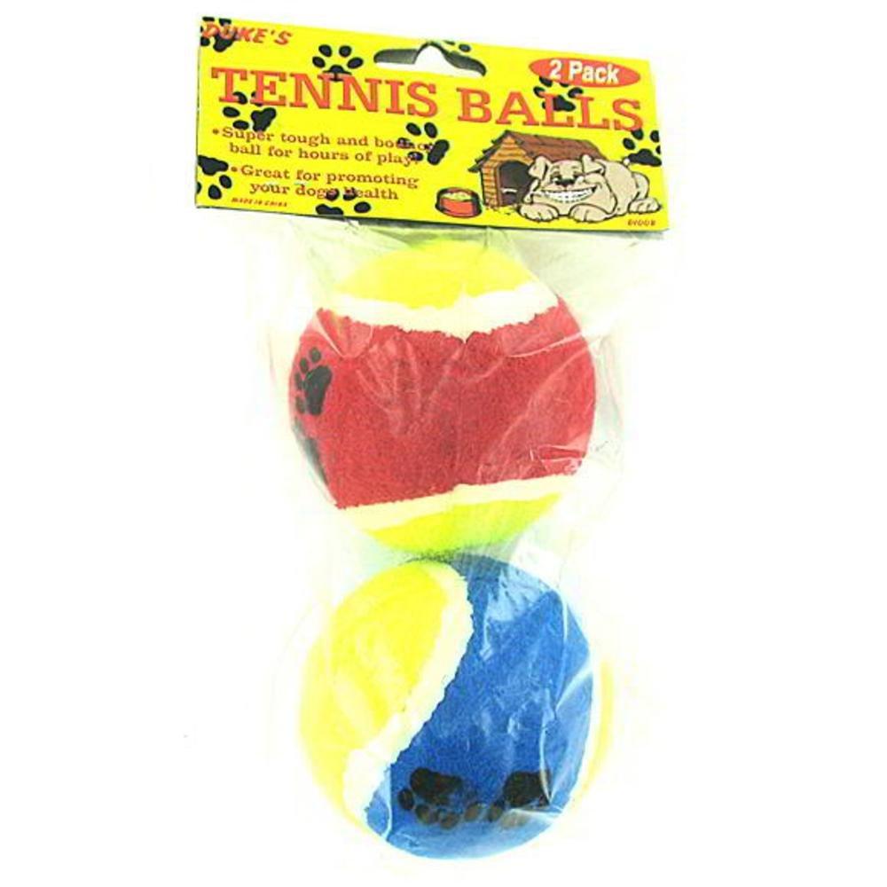 72 2 Pack dog toy tennis balls
