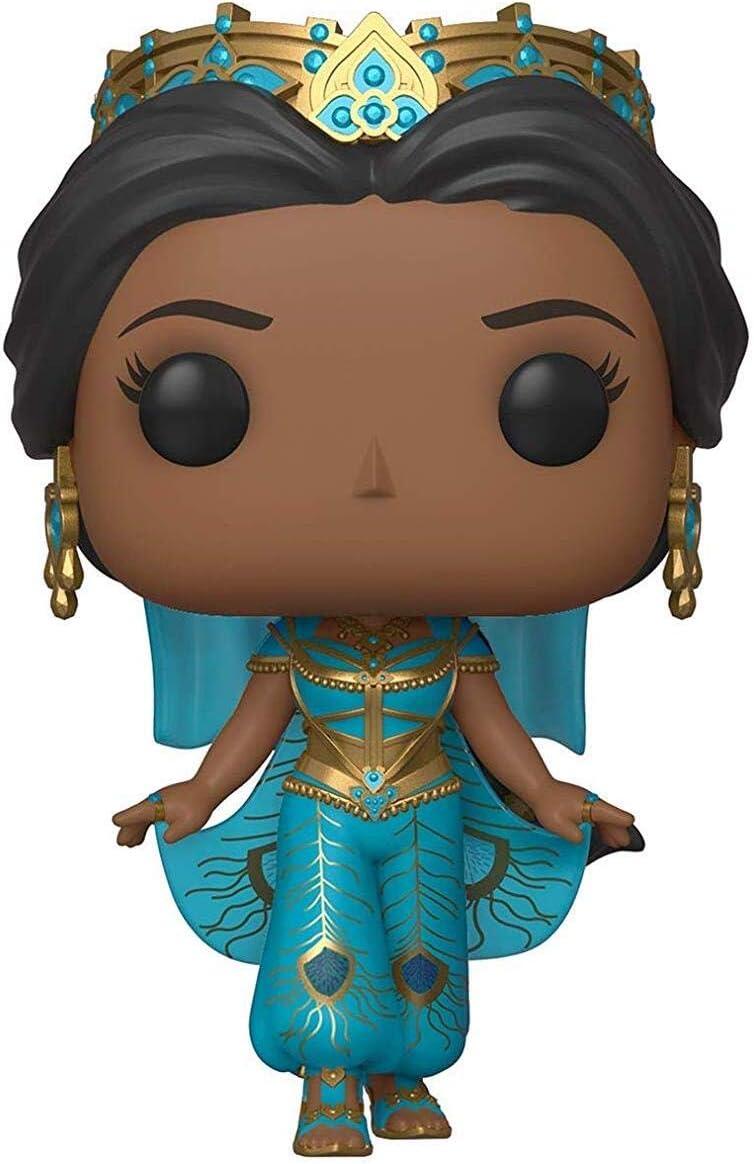Funko- Pop Vinilo: Disney: Aladdin (Live Action): Jasmine Figura Coleccionable, Multicolor, Estándar (37024)