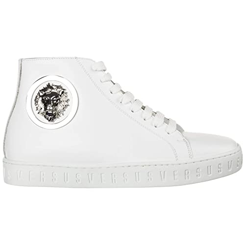 Versus Versace Sneakers Alte Lion Head Donna Bianco: Amazon ...