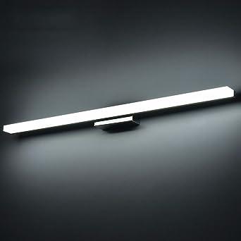 Lozse 14W LED Spiegelleuchte Schranklampe Wandleuchte Kaltwei/ß Badezimmerlampe Badlampe Spiegel Wand Schminklicht 100cm