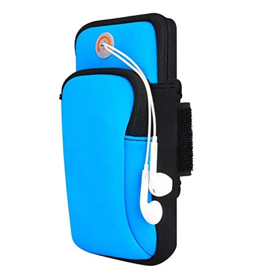 7da01b61a543 Amazon.com: Plus Mi Life Sport Armband Running Jogging Gym Arm Band ...
