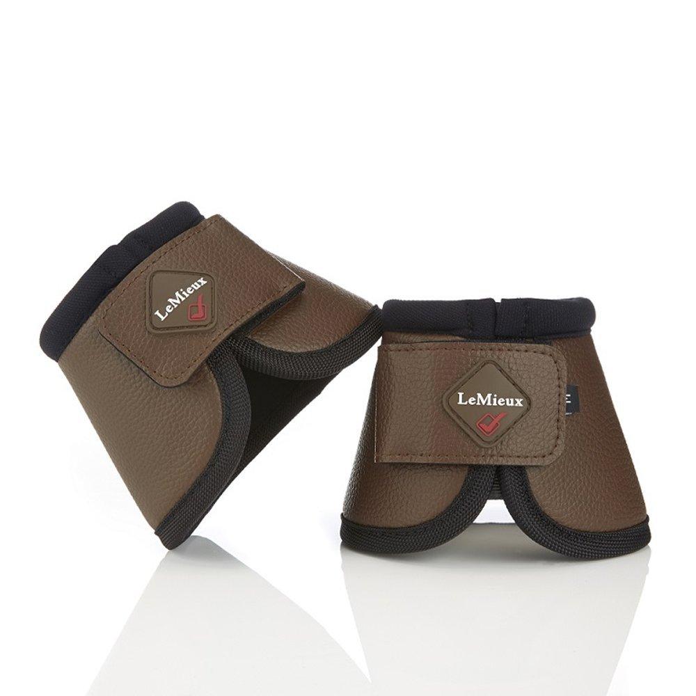 LeMieux Leather ProForm Over Reach Boots XX Large Brown