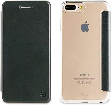 Muvit Folio Funda iPhone 7/6s/6 Oro Rosa/Transparente
