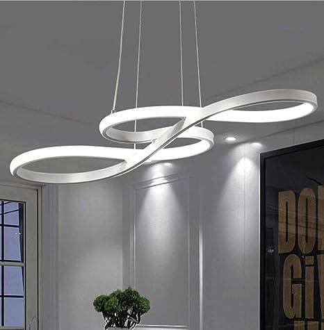 LNYF-OV Lamparas De Techo Colgante LED Regulable Blanco ...