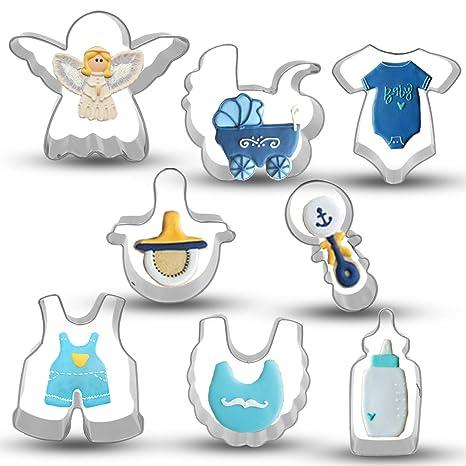 Amazon.com: Bonropin - Cortador de galletas para baby shower ...