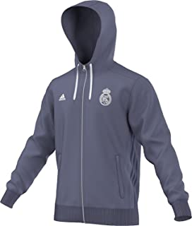Amazon.com: adidas 2018-2019 Real Madrid 3S - Cremallera con ...