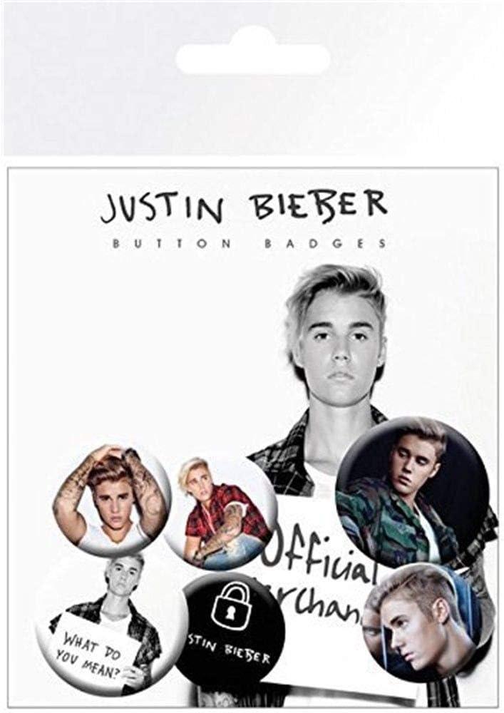 GB Eye, Justin Bieber, Mix 2, Pack de Chapas,: Amazon.es: Hogar