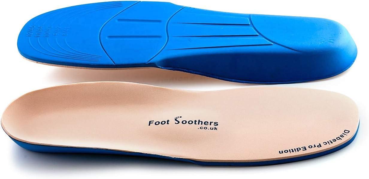 Foot Soothers Plus diabetico ortopédicos Plantillas
