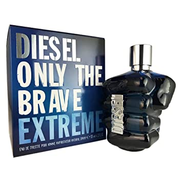 Diesel Only The Brave Eau De Toilette 125 Ml Amazonfr Beautã Et